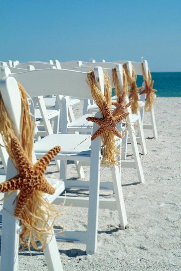 wunderschöne Idee für die Hochzeit Hochzeit am Strand