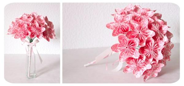 origami-blumen-strauß