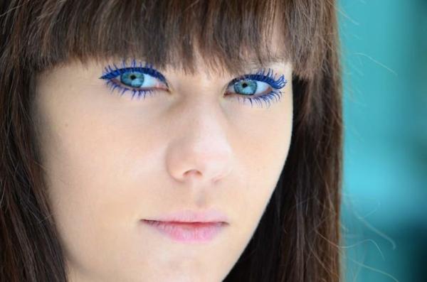 Blaue Augen Schminken: 77 Bilder!