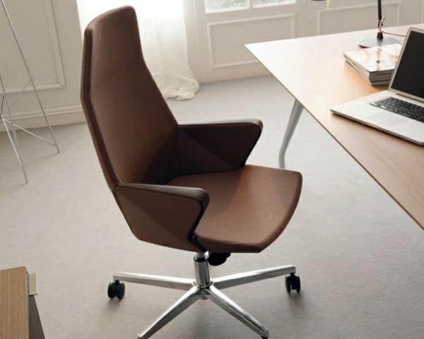 Armlehnsessel-modern-Bürostuhl-Armlehnen-ergonomisch-Hyway-Orlandini-Design-