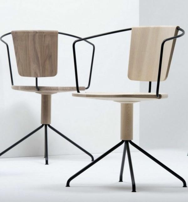 Büromöbel-Schreibtischstühle-mit-modernem-Design-aus-Holz