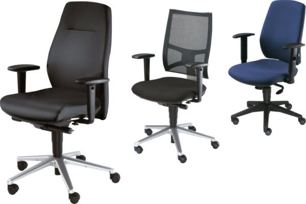 Bürostühle-in-dunklen-Farbe-Büromöbel