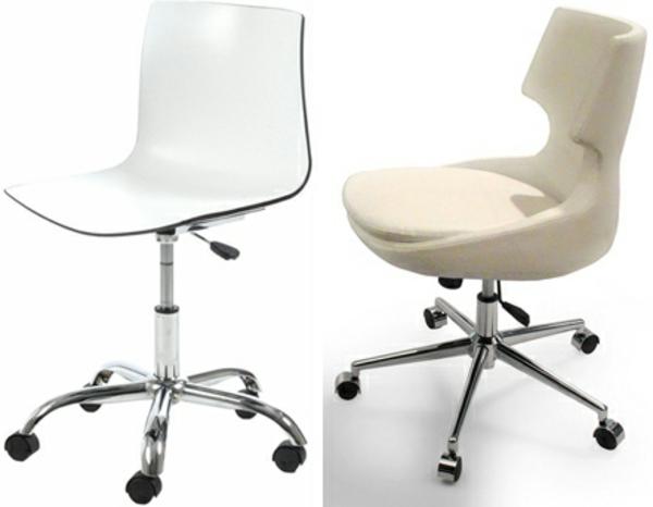 Bürostühle-in-hellen-Farben-Drehstul-Design-Idee