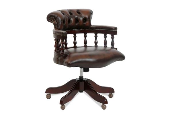 Bürostühle-mit-schönem-Design-Interior-Design-Ideen-Holz-Leder