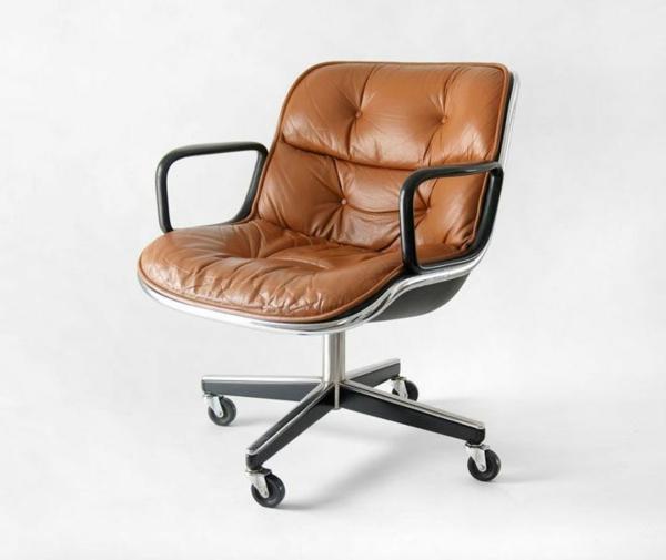 Schreibtischstuhl 33 wundersch ne modelle - Lederstuhl design ...