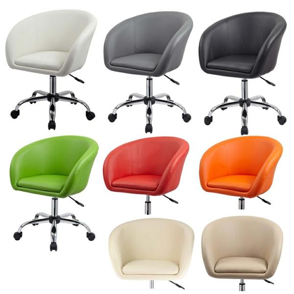 Bürostühle-mit-schönem-Design-Interior-Design-Ideen-in-vielen-Farben