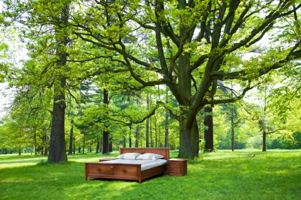 himmelbett f r magische momente im garten. Black Bedroom Furniture Sets. Home Design Ideas