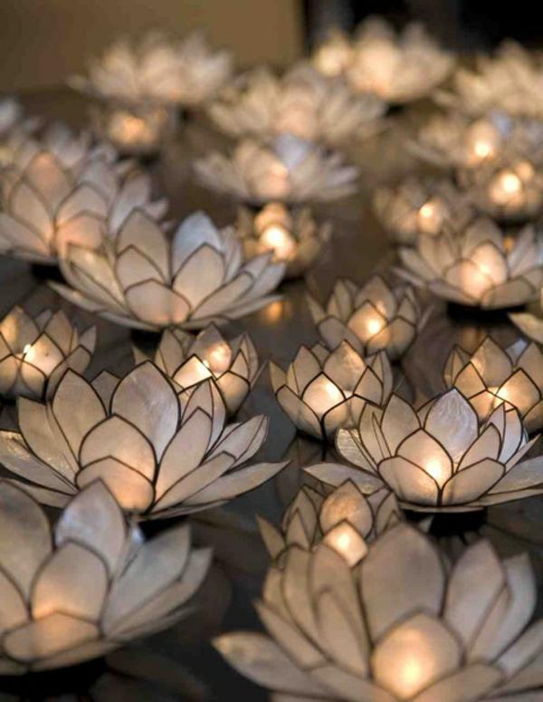 Blumen-Kerzen-halter-fantastische-Tischdeko-mit-Kerzen