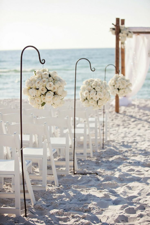 hochzeit am strand ein romantischer traum. Black Bedroom Furniture Sets. Home Design Ideas