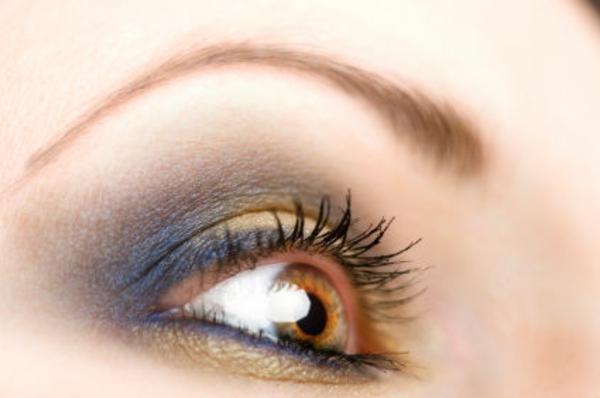 Augen Schminken - sehr interessantes make up