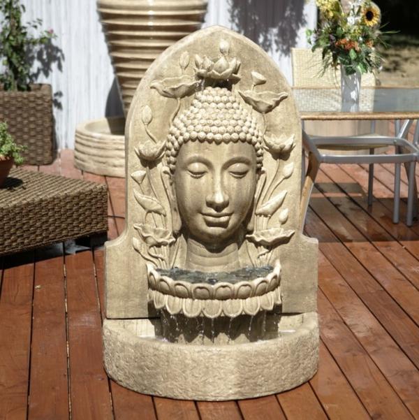 Buddha-Brunnen-aus-stein-gemacht