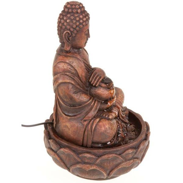 Buddha-Brunnen-interessant-und-kreativ-gestaltet