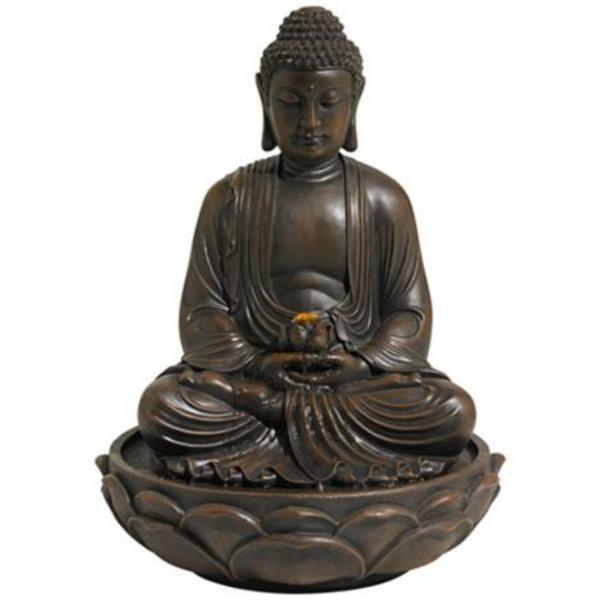 Buddha-Brunnen-schöne-statue