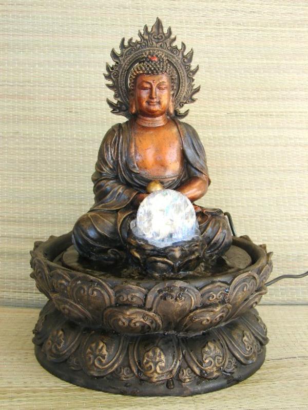 Buddha-Brunnen-schönes-modell