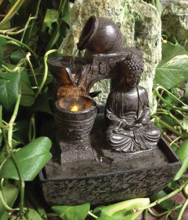 Buddha-Brunnen-super-exotischer-look