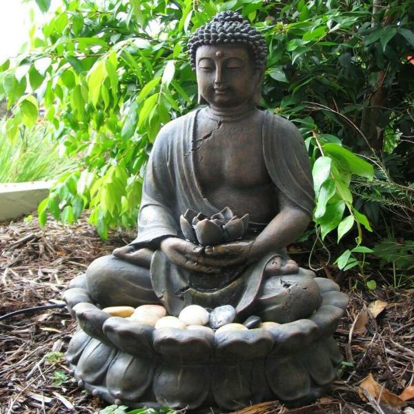 Buddha-Brunnen-wunderschön-wirken