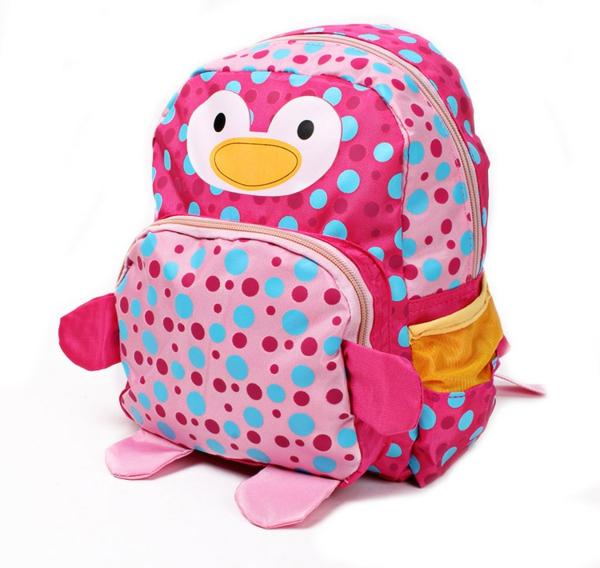 interessantes modell vom kindergarten-rucksack -rosige farbe