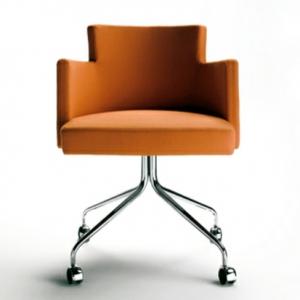 Drehstuhl mit modernem Design fürs Büro