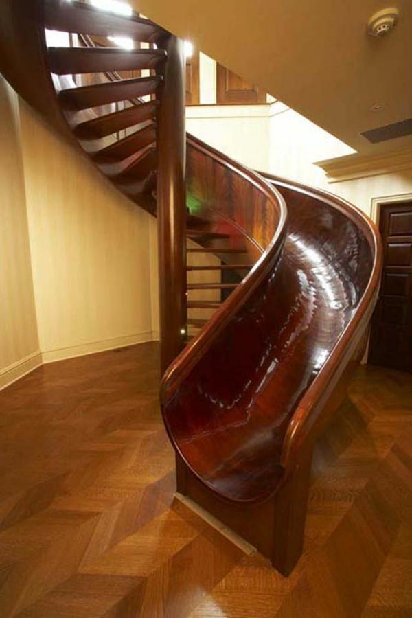 Wendeltreppe f r innen und au en 100 fotos for Toboggan escalier