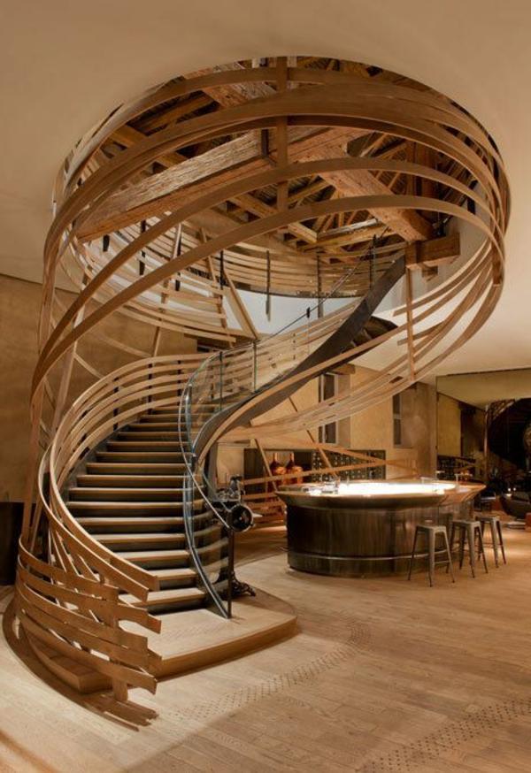 Exterior-super-moderne-Außentreppe-Spindeltreppe