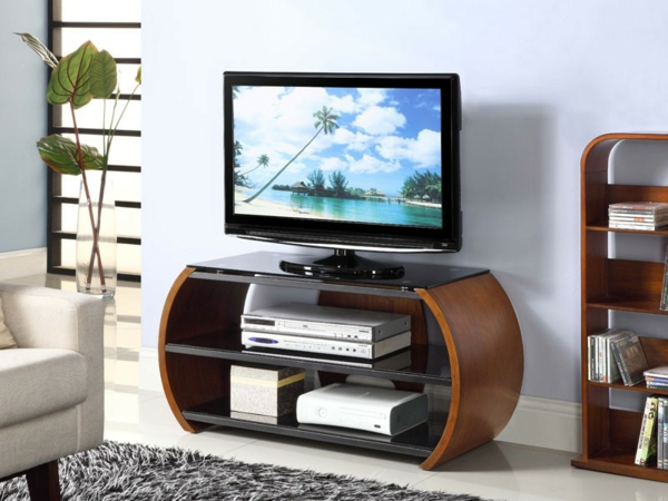 Fernsehmöbel-funktionelles-Design-Interior-Design-Ideen-Wohnideen