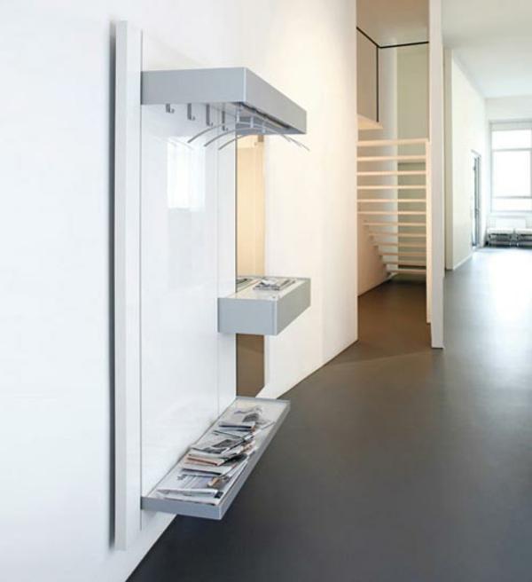 Garderobenhaken-mit-innovativem-Design-in-weißer-Farbe-Hochglanz