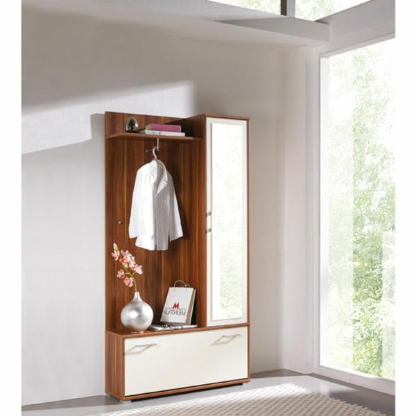 Garderobenmöbel-moderner-und-hochwertiger-Schrank-aus-Holz-in-zwei-Farben