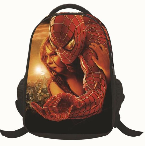 super rucksack-modell für kindergarten - spiderman