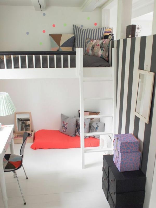 Hochbetten-mit-schönem-Design-Kinderzimmermöbel-