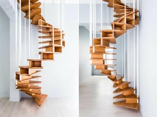 -.Innenarchitektur-effektvolles-Design-für-eine-Spindeltreppe-