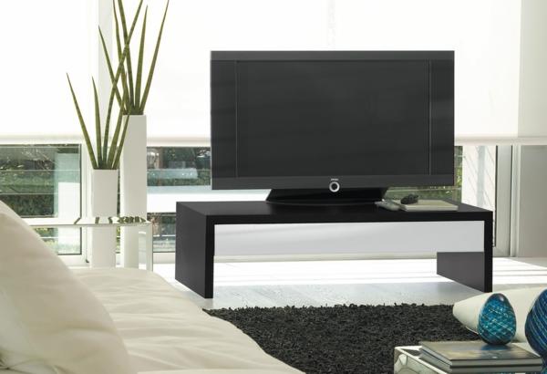 Interior-Design-Fernsehmöbel--mit-coolem-Design-für-ein-modernes-Wohnzimmer-