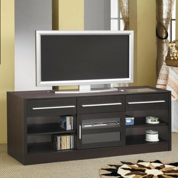 Interior-Design-Fernsehmöbel-mit-coolem-Design-für-ein-modernes-Wohnzimmer-