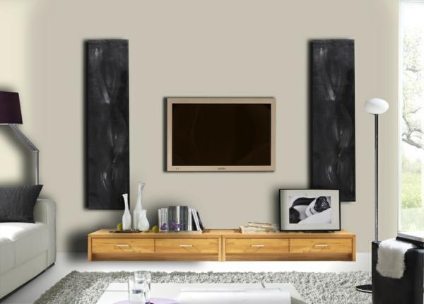 Interior-Design-Fernsehmöbel-mit-coolem-Design-für-ein-modernes-Wohnzimmer