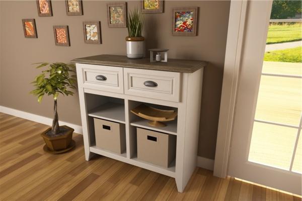 Interior-Design-Ideen-Möbel-für-den-Flur-mit-traditionellem-Look