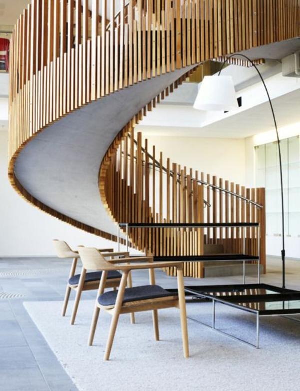 Interior-Design-Ideen-Spindeltreppe-mit-originellem-Design