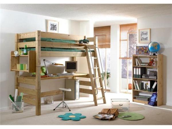 Kinder-Hochbett-Interior-Design-Ideen-für-das-Kinderzimmer-