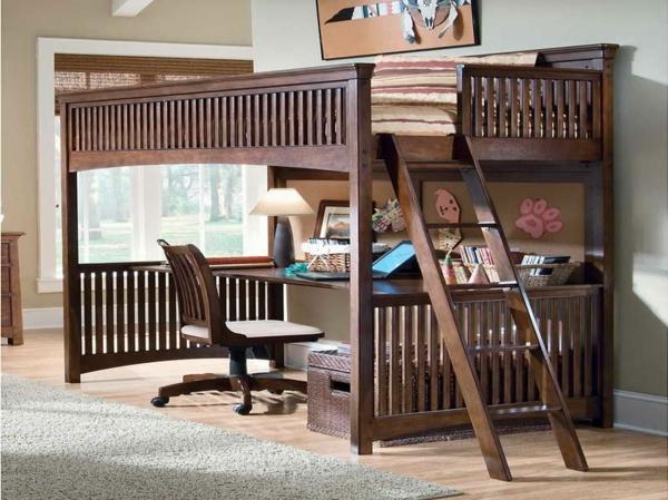 Kinder-Hochbett-Interior-Design-Ideen-für-das-Kinderzimmer