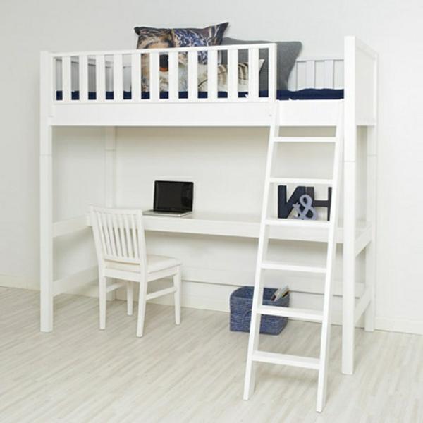 Kinderhochbett-Hochbett-mit-Schreibtisch-moderne-Kinderzimmergestaltung-in-Weiß