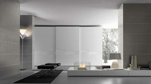 Kleiderschrank-Weiß-effektvolles-elegantes-Design-schöne-Einrichtungsideen-