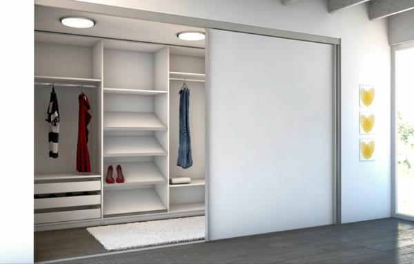-Kleiderschrank-Weiß-effektvolles-elegantes-Design-schöne-Einrichtungsideen-