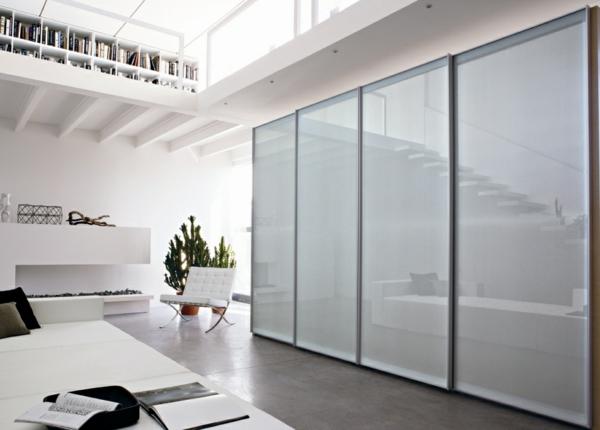 --Kleiderschrank-Weiß-effektvolles-elegantes-Design-schöne-Einrichtungsideen