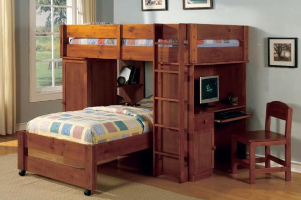Holz Etagenbett Für Erwachsene : Das hochbett ein traumbett für kinder und erwachsene! archzine.net