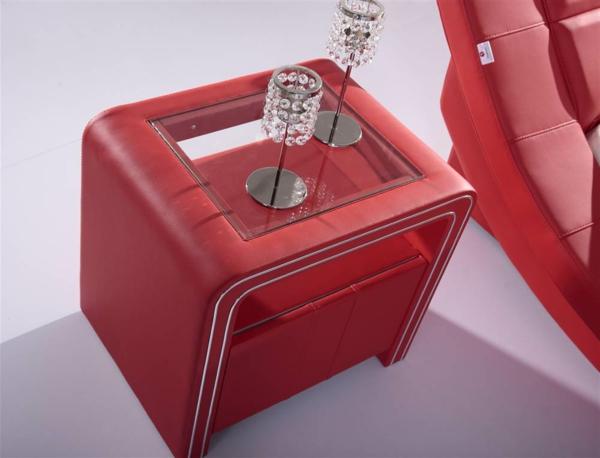 Nachttisch Rot moderner nachttisch fürs schlafzimmer archzine