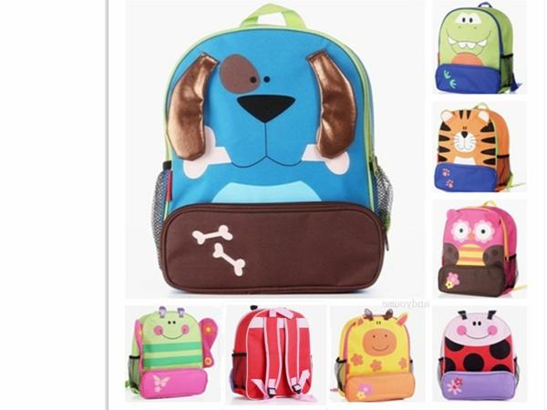 buntfarbige lustige rucksäcke für kinder
