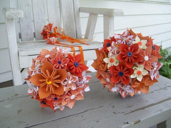 origami blume und mehr die besten ideen f r eine farbenfrohe dekoration. Black Bedroom Furniture Sets. Home Design Ideas