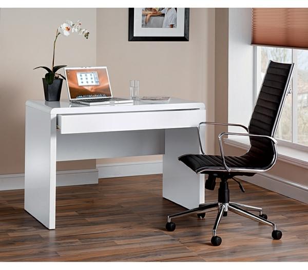 PC-Tisch-Holz-praktisches-und-funktionelles-Design-Schreibtisch-Weiß