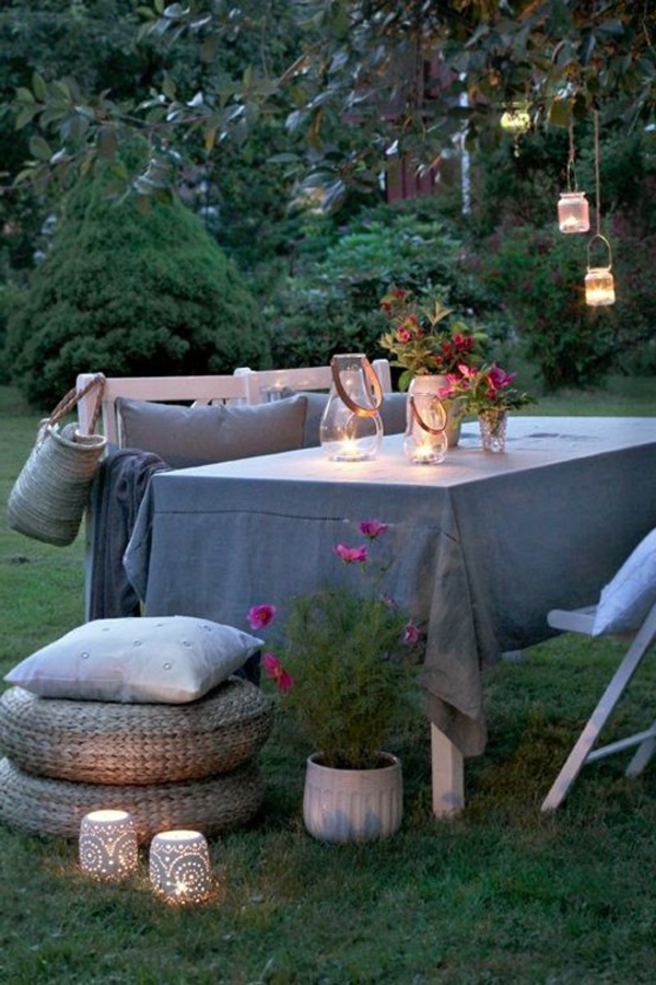 windlichter spektakul r f r die sch nste gartenparty. Black Bedroom Furniture Sets. Home Design Ideas