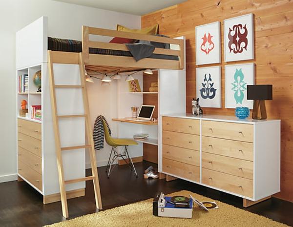 kinderzimmer mit schreibtisch einrichten innenr ume und m bel ideen. Black Bedroom Furniture Sets. Home Design Ideas