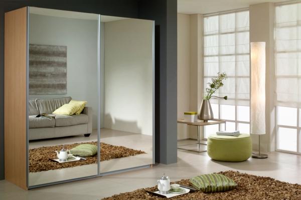Schiebetüren-Spiegel-für-Kleiderschrank-schöne-Wohnideen-für-Zuhause