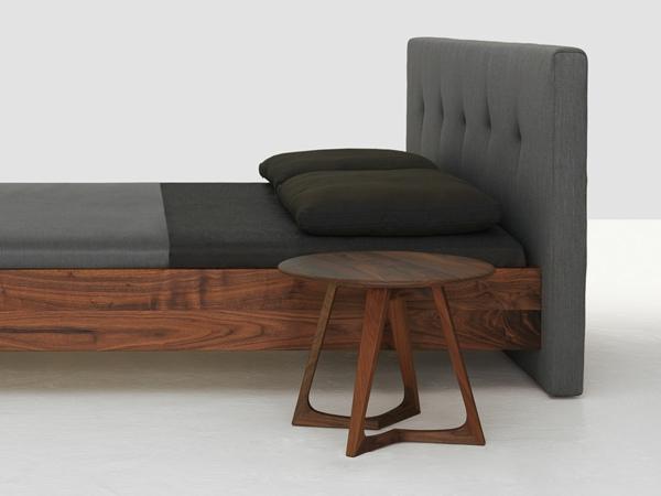 Schlafzimmer Einrichten Inspiration Holz Nachttisch Lampe: Moderner Nachttisch Fürs Schlafzimmer